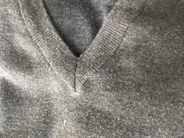 Selling with online payment: Grey Jumper: Age 9-10