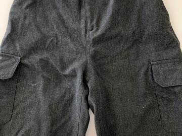Selling with online payment: Grey shorts - Age 11