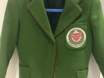 Selling with online payment: Rowan Blazer - Age 7-8