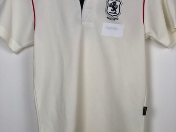 """Selling with online payment: Shrewsbury House Cricket Shirt - XLB (34"""")"""