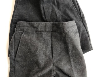 "Selling with online payment: Grey shorts 21"" waist"