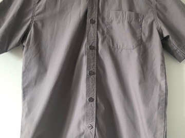 """Selling with online payment: 5 x Grey Shirt: Collar 13.5"""""""