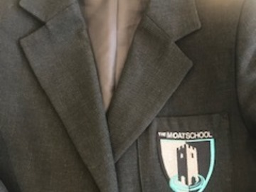 Selling with online payment: Moat School Boy's Blazer - size 30