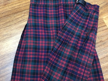Selling with online payment: Tartan Kilt - Winter x 2