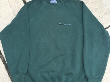 Selling with online payment: Moat School PE Sweatshirt (adult XS)