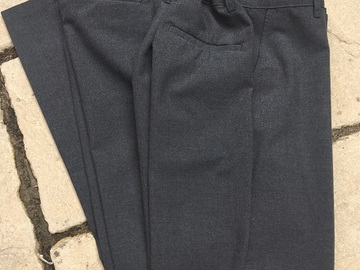 Selling with online payment: 2 Pairs M&S  Boys' Grey Trousers (14-15y)
