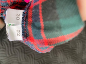 Selling with online payment: Tartan Kilt
