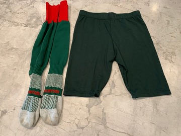 Selling with online payment: Green Shorts