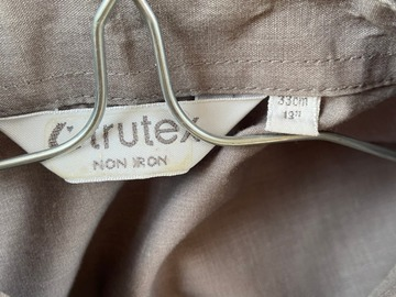 "Selling with online payment: 2 x 13 "" Trutex grey Shirt - Short Sleeve"