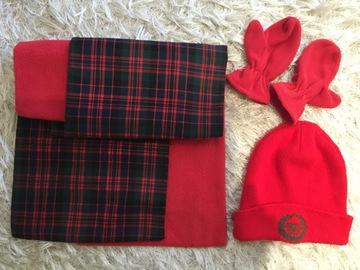 Selling with online payment: Rowan Scarf, Hat and Gloves