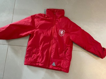 Selling with online payment: Red jacket