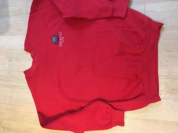 Selling with online payment: Moat School PE Sweatshirt Red Adult M