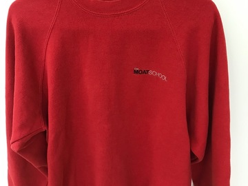 Selling with online payment: Moat School PE Sweatshirt Palace Size M
