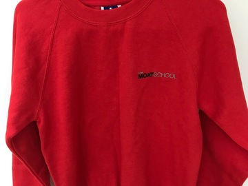 Selling with online payment: Moat School PE Sweatshirt Age 11/12