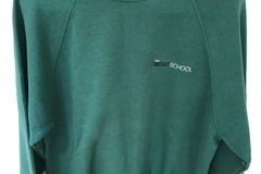Selling with online payment: Moat School PE Sweatshirt Size Adult M