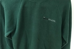 Selling with online payment: Moat School PE Sweatshirt Size 11/12