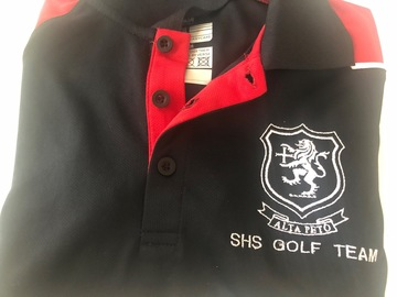 Selling with online payment: Golf team top