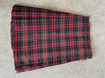 """Selling with online payment: Tartan Kilt - 24"""""""
