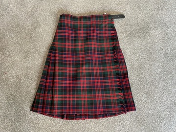"""Selling with online payment: Tartan Kilt - 22"""""""