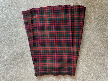 """Selling with online payment: Tartan Kilt 24"""""""