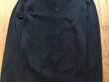 Selling with online payment: Age 10-11, M&S, Navy Jumper