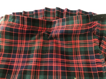 Selling with online payment: Tartan Kilt - 26/20""