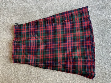 """Selling with online payment: Tartan Kilt 22"""""""