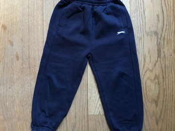 Selling with online payment: Age 3-4, Slazenger, Navy, Joggers