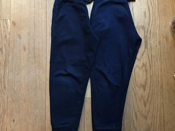 Selling with online payment: Age 7-8, Urb 65, Navy, Joggers, x2