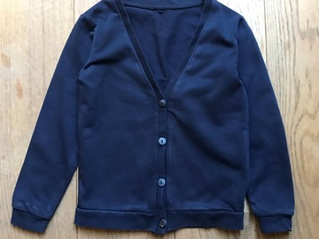 Selling with online payment: Age 5-6, F&F, Navy, Cardigan