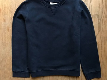 Selling with online payment: Age 9-10, John Lewis, Navy, Sweatshirt