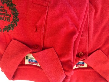Selling with online payment: Brae Polo Shirt Age 5/6 x2