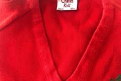 Selling with online payment: Red crest jumper - 36""