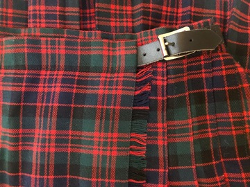 """Selling with online payment: Tartan Kilt - 28"""""""