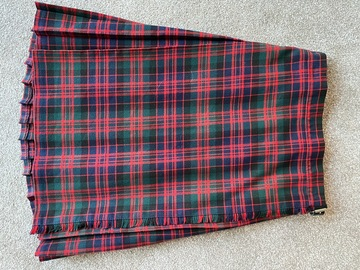 """Selling with online payment: Tartan Kilt 26"""""""