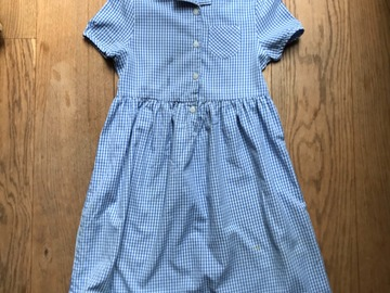 Selling with online payment: Age 9, John Lewis, Blue, Dress