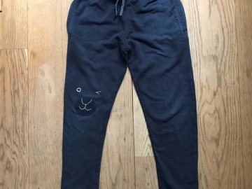 Selling with online payment: Age 9, Next, Navy, Joggers