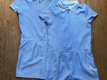 Selling with online payment: Age7-8, George, Blue, Skorts Dress, x2