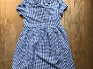 Selling with online payment: Age 8, John Lewis, Blue, Dress