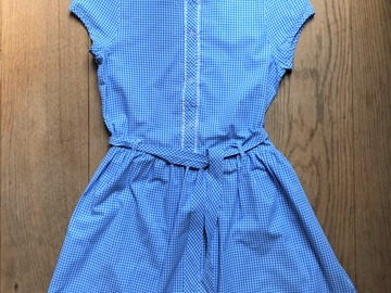 Selling with online payment: Age 12-13, George, Blue, Dress
