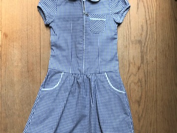 Selling with online payment: Age 7, John Lewis, Blue, Dress
