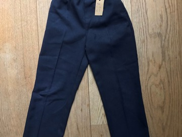 Selling with online payment: Age 5-6, John Lewis, Navy, Trousers