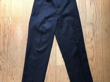 Selling with online payment: Age 9-10, Lily & Dan, Navy, Trousers