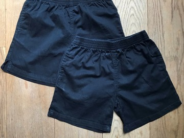 Selling with online payment: Age 8-9, George, Black, Shorts x2
