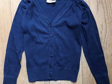 Selling with online payment: Age 9, Next, Navy, Cardigan