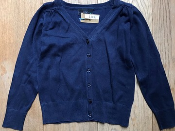Selling with online payment: Age 7, Next, Navy, Cardigan