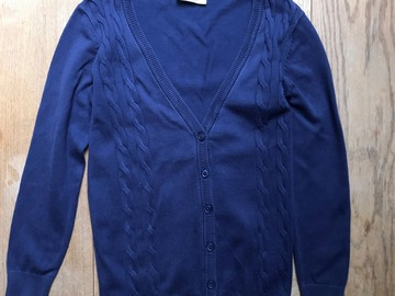 Selling with online payment: Age 8-9, Very, Navy, Cardigan
