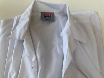 """Selling with online payment: White shirt - David Luke 32"""""""