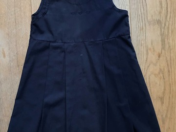 Selling with online payment: Age 6-7, George, Navy, Pinafore Dress