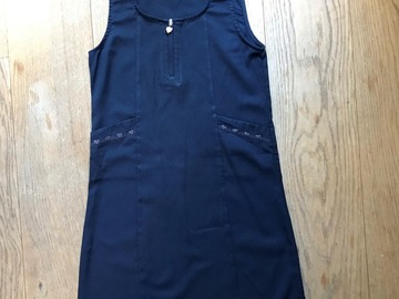 Selling with online payment: Age 9-10, George, Navy, Pinafore Dress